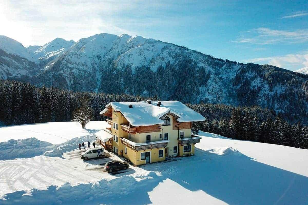 Hollersbach Ferienwohnung Berghof Luegeck