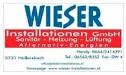Hollersbach Logo Installationen Wieser