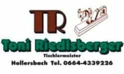 Hollersbach Logo Tischlerei Riedlsberger